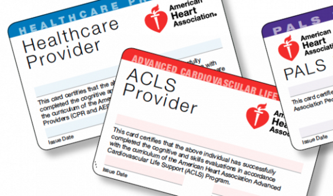 AHA ACLS, BLS, PALS Renewal - If registered for conference
